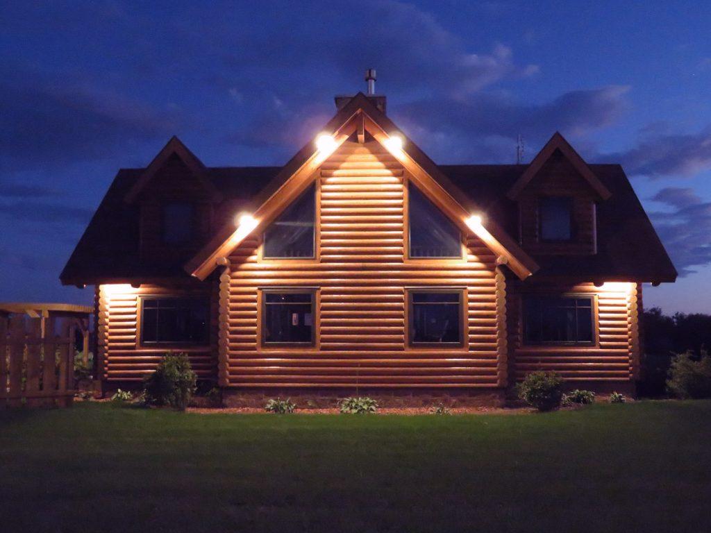 log home model