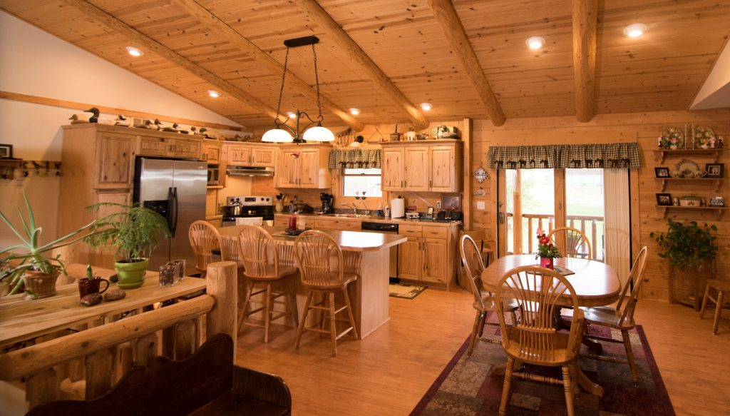 Teton Log Home