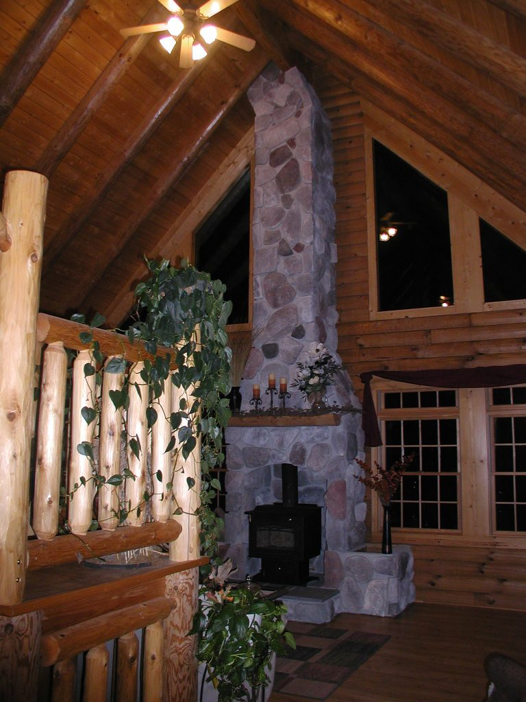 Butler Homestead Log Home