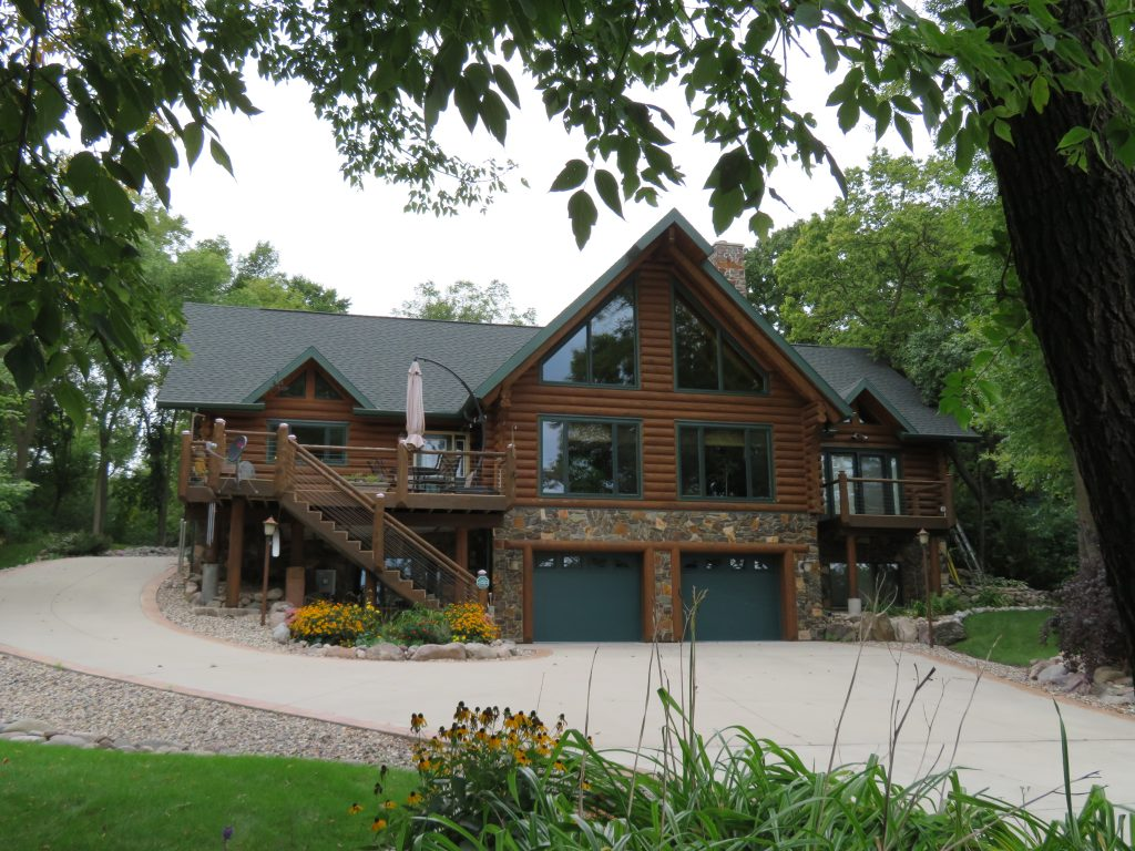 Green Lake Log Home