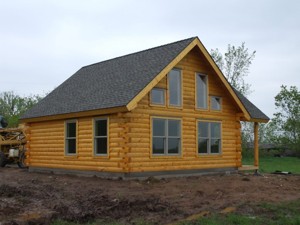 Pierz Cabin Log Home